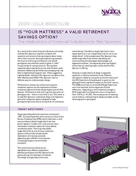 "Is ""Your Mattress"" a Valid Retirement Savings Option?"