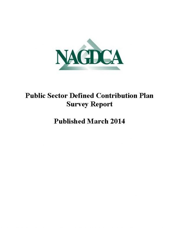 NAGDCA 2014 Survey I Detailed Overall Survey Results