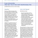 Plan Sponsors:Meeting Your Fiduciary Responsibilities