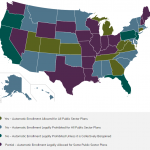Automatic Enrollment Map