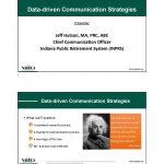 Data-Driven Communication Strategies