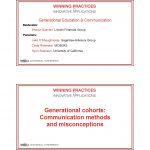 Generational Education & Communication