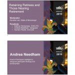 Retaining Retirees and Those Nearing Retirement