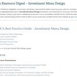 Investment Menu Design Resource Digest