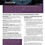CARES Act Analysis