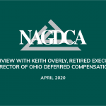 A Conversation with Keith Overly, retired Executive Director of Ohio Deferred Compensation