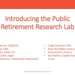 Introducing the Public Retirement Research Lab: Defining the Future of Public Sector Retirement