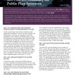 SECURE 2.0 Summary for Public Plan Sponsors